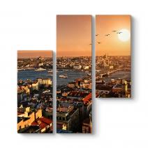 İstanbul Galata Manzara Tablosu