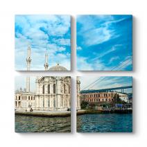 Büyük Mecidiye Camii Manzara Tablosu