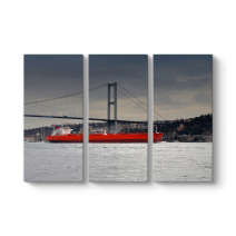 Boğaz Köprüsü ve Gemi Tablosu