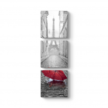 Dikey Kırmızı Şemsiye Tablosu