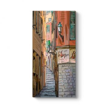 Eski İtalya Sokağı Tablosu