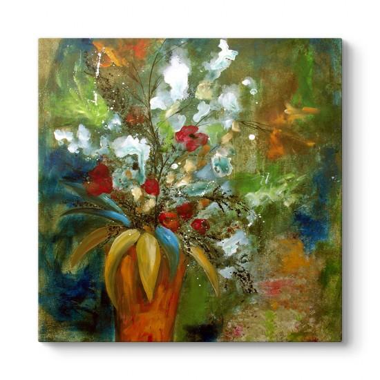 Çiçek Akrilik Tablo