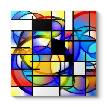Renkli Şekiller Tablosu