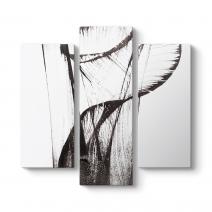 Abstract Fırça Tablosu