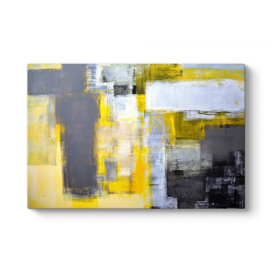 Sarı Wall Art Tablosu