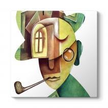 Cubist Face Tablo