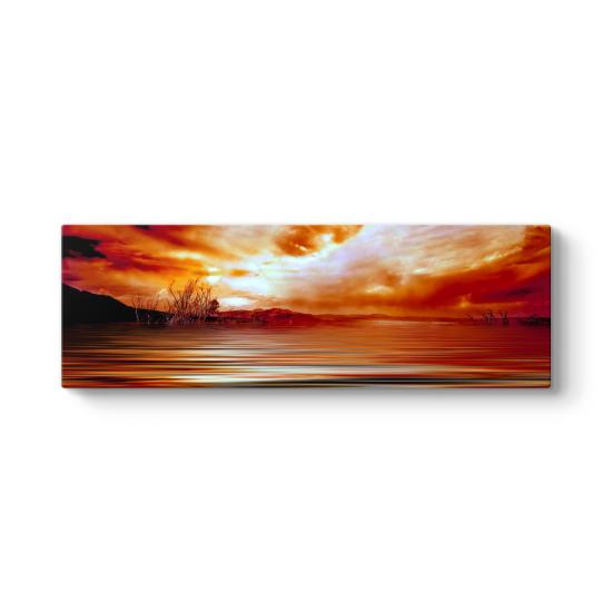Desert Panorama Tablo