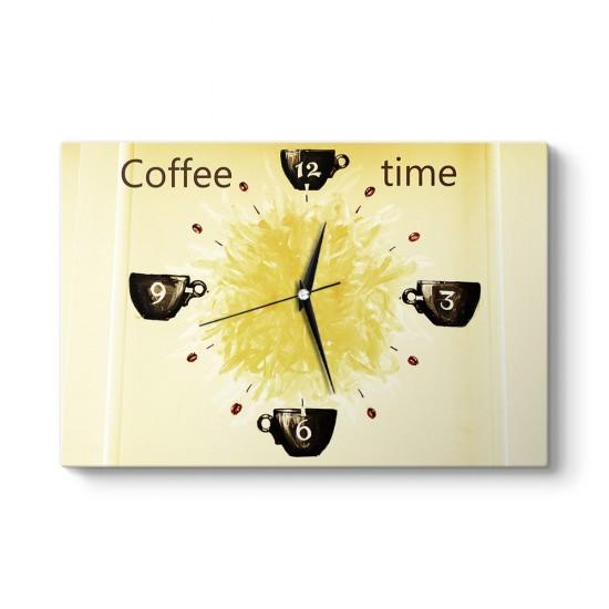 Kahve Zamanı Tablo Saat