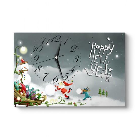 Happy New Year Tablo Saat