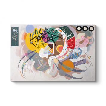 Wassily Kandinsky - Dominant Curve Tablosu