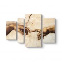 Michelangelo - Creation of Adam Tablosu