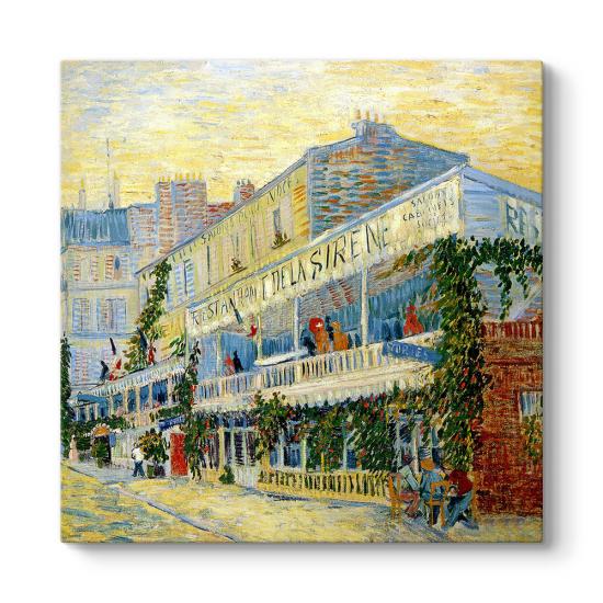 Vincent Van Gogh - The Restaurant Tablosu
