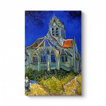 Vincent Van Gogh - The Church Tablosu