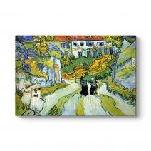 Vincent Van Gogh - The Staircase Tablosu
