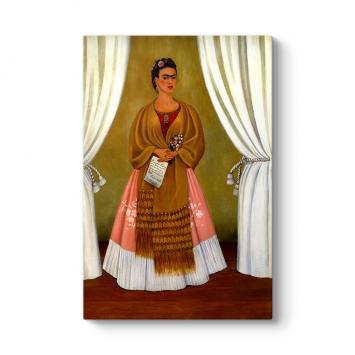 Frida Kahlo - Dedicated to Leon Trotsky Tablosu