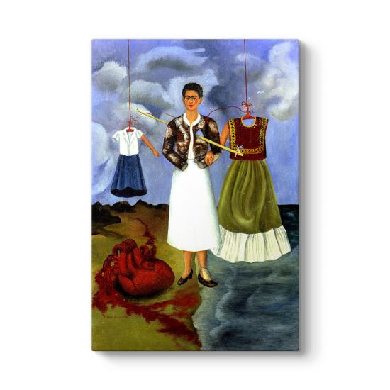 Frida Kahlo -Souvenir ou le Coeur Tablosu