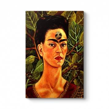 Frida Kahlo - Thinking About Death Tablosu
