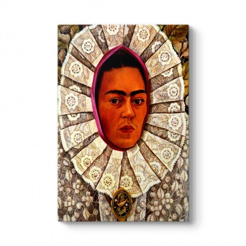 Frida Kahlo - Self Portrait Tablosu