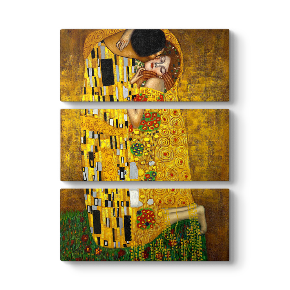 the kiss klimt Some of the world's most famous artworks are nomadic they travel from one  institution to another, borrowed and lent across museums so that.
