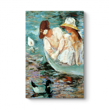 Mary Cassatt - Summer Tablosu