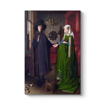 Jan van Eyck - Arnolfini'nin Evlenmesi Tablosu