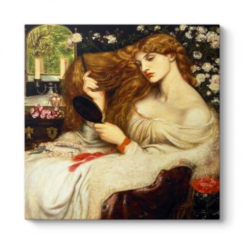 Dante Gabriel Rossetti - Lady Lilith Tablosu