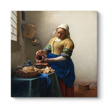 Johan Vermeer - Sütçü Kız Tablosu