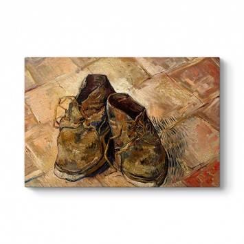 Vincent Van Gogh - Shoes Tablosu