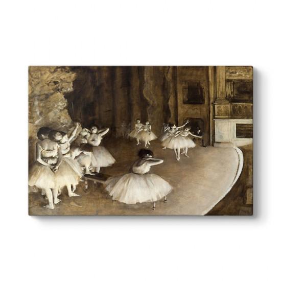 Edgar Degas - Ballet Rehearsal Tablosu