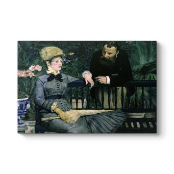 Edouard Manet - Conservatory Tablosu