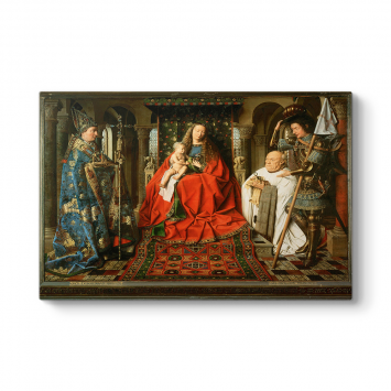 Jan van Eyck - The Madonna Tablosu