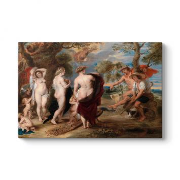 Peter Paul Rubens - Paris'in Yargısı Tablosu