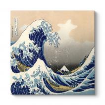 Ando Hiroshige - Wave Of Kanagawa Tablosu