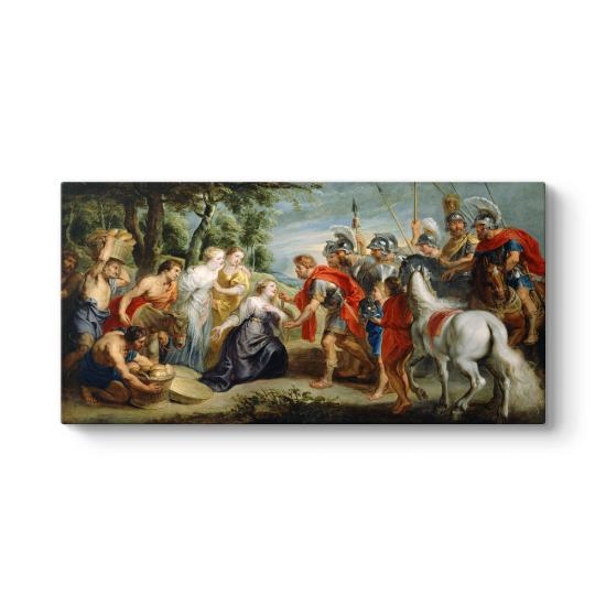 Peter Paul Rubens - The Meeting of David Tablosu