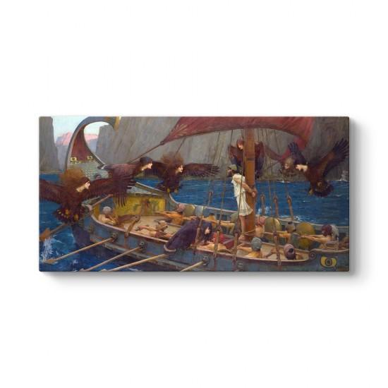 John William Waterhouse - Ulysses and the Sirens Tablosu