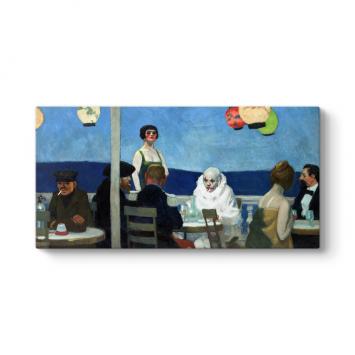 Edward Hopper - Soir Bleu Tablosu