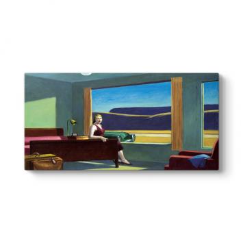 Edward Hopper - Western Motel Tablosu
