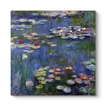 Claude Monet - Water Lilies Tablosu
