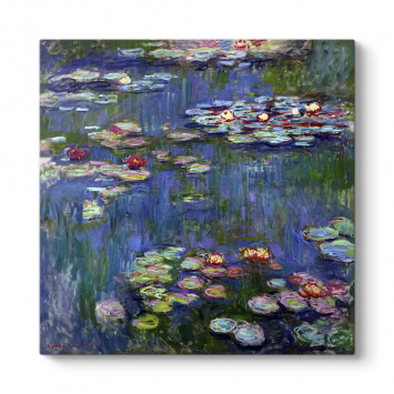 Claude Monet - Water Lilies Tablosu