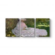 Claude Monet - Springtime Tablosu