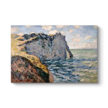 Claude Monet - The Cliff of Aval Tablosu