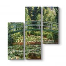 Claude Monet - Japanese Footbridge Tablosu