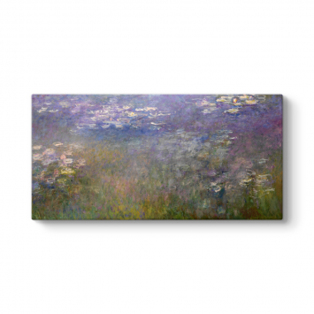 Claude Monet - The Water Lily Pond Tablosu