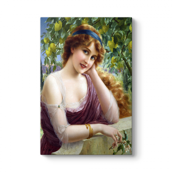 Emile Vernon - Beautiful Lemon Tree Tablosu