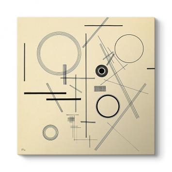 Wassily Kandinsky - Ohne Titel Tablosu