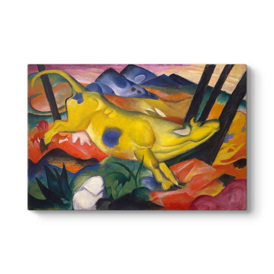 Franz Marc - The Yellow Cow Tablosu