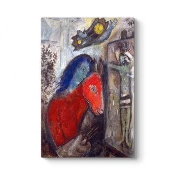 Marc Chagall - Self Portrait Tablosu