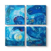 Marc Chagall - Chagall Vitebsk Tablosu