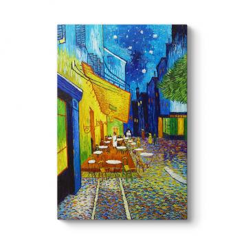 Vincent Van Gogh - Terrasse de Cafe Tablosu