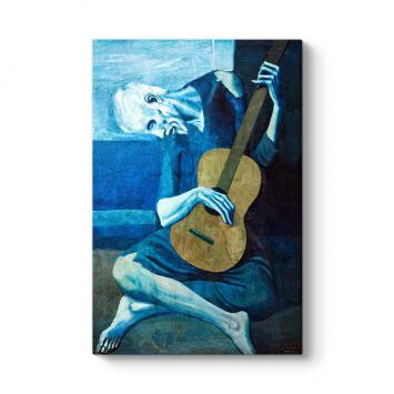 Pablo Picasso - The Old Guitarist Tablosu